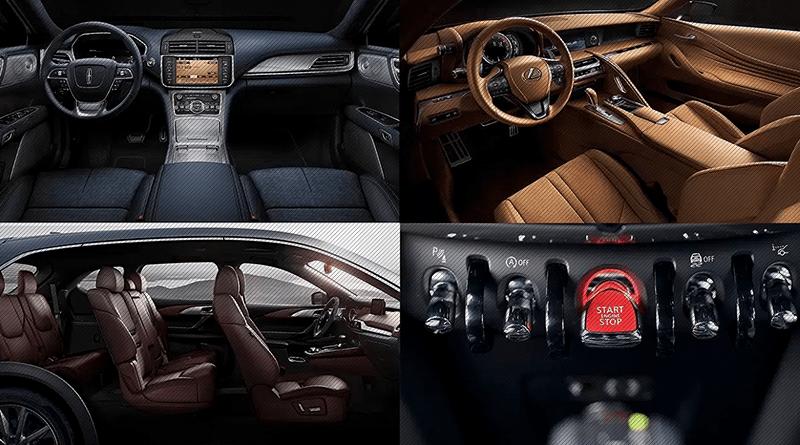 Os dez melhores interiores de carro de 2017, segundo a Ward's