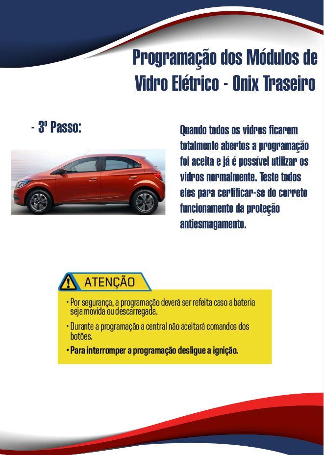 Programação do Módulo de Vidro Elétrico Chevrolet Onix %count(alt) Blog MixAuto