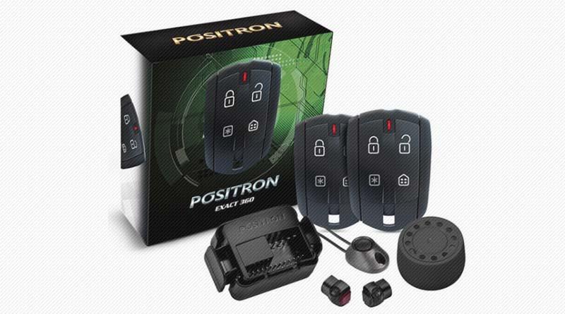 Segurança Automotiva: Alarme Positron Exact EX 360 - Novidade Positron