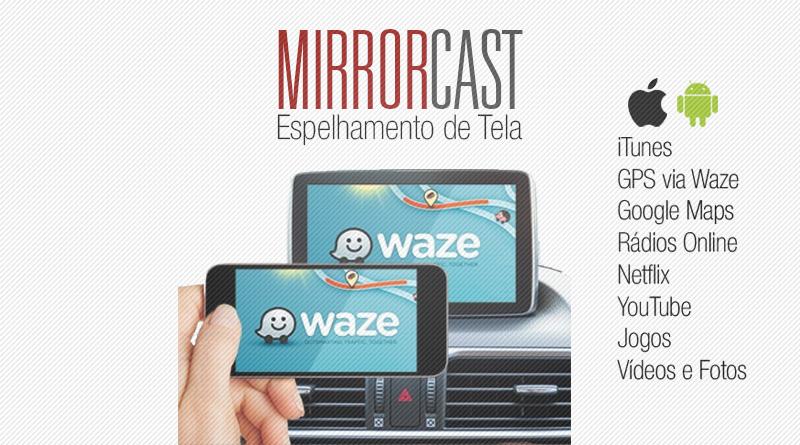Mirror Cast Mix Auto - Espelhamento de Tela - Smartphone Android e IOS