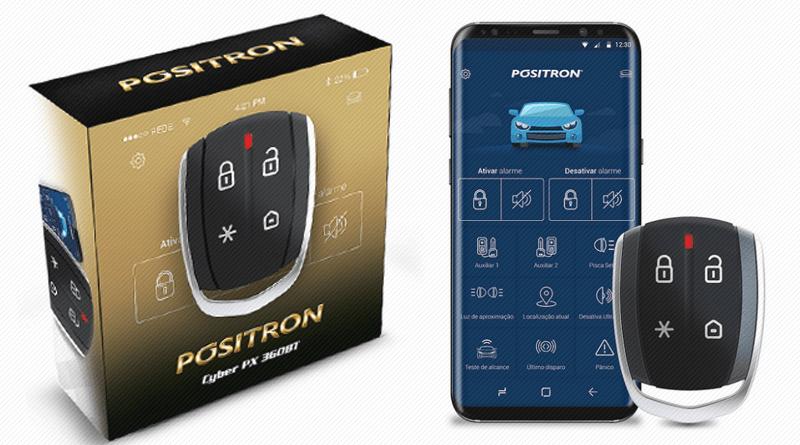 Novidade Positron - Alarme com Controle na tela do seu Celular