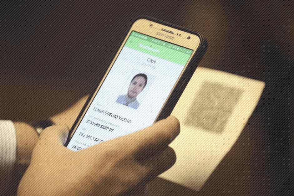 Carteira de Habilitação também via Aplicativo a partir de 2018