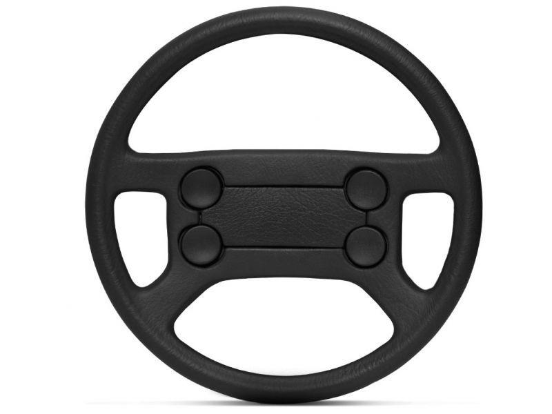 Por que o volante se esfarela?