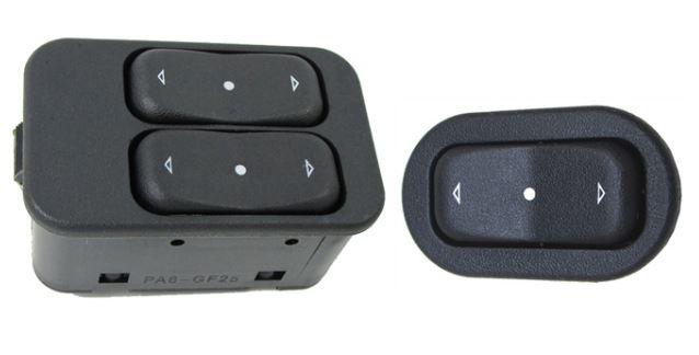 Botões Kit de Vidro Elétrico do Novo Corsa Dianteiro
