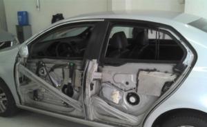 Concerto de vidro elétrico para carros blindados