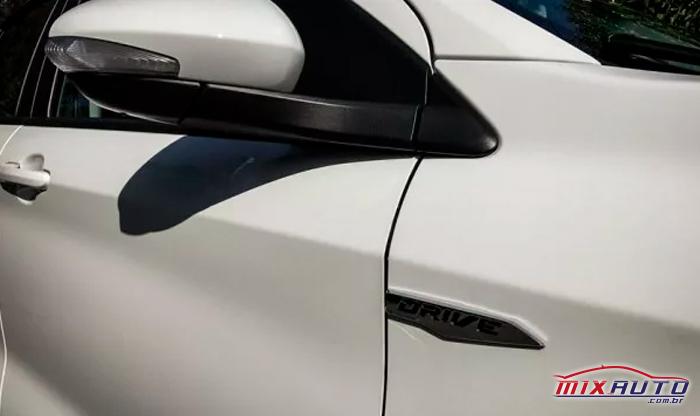 Retrovisor elétrico do Fiat Argo
