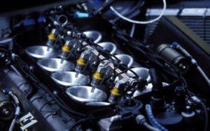 Injeção eletrônica no carro, bico injetor
