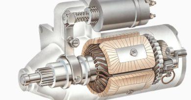 Motor de partida raio X