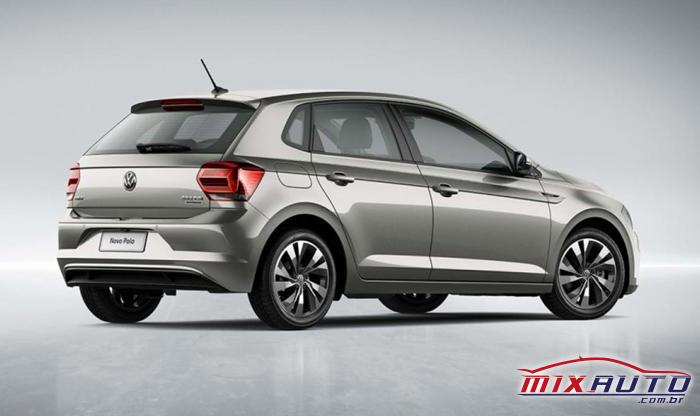 Novo Polo VW 2020 possui baixo consumo por km/l