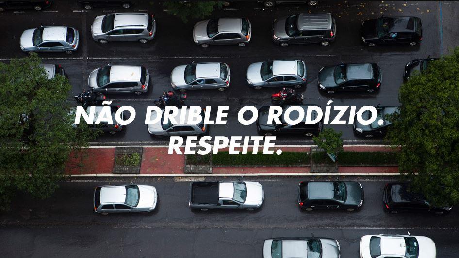 Respeite o rodizio