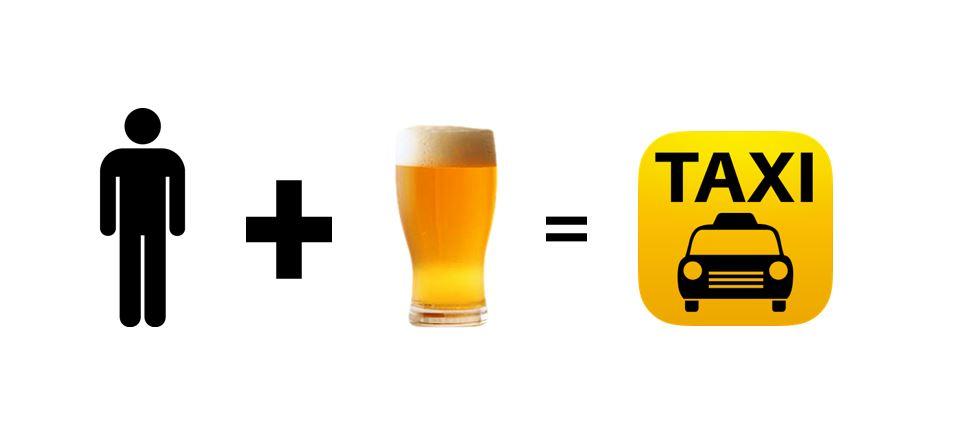 Se beber vai de taxi