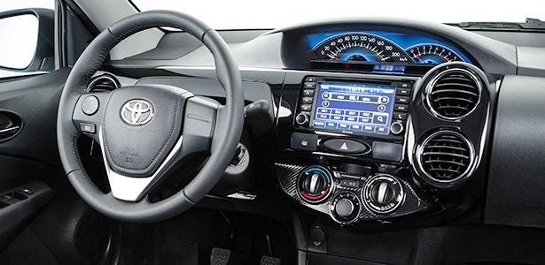 Toyota Étios multimídia, podemos esperar algo parecido para o Toyota Yaris