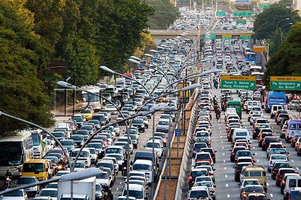 Transito de São Paulo
