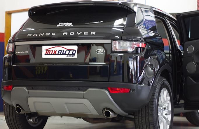 Traseira do Range Rover Evoque