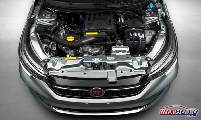 Motor do Fiat Cronos
