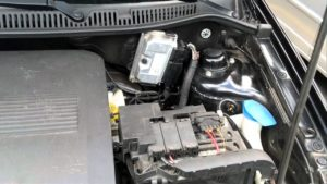 Imagem de um motor de um carro