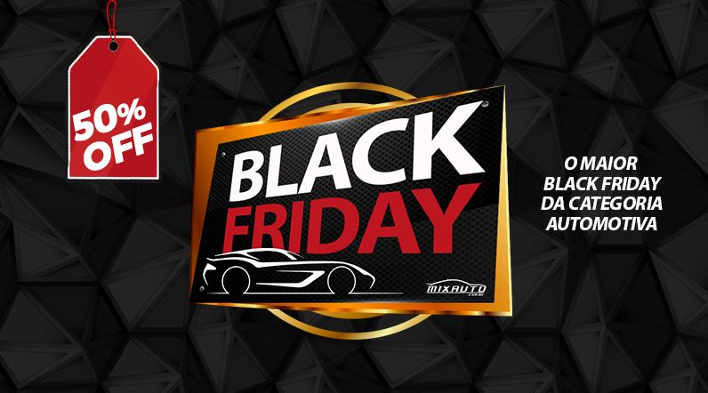 Black Friday: Você sabe onde surgiu essa data? A MixAuto preparou o melhor Black Friday de acessórios automotivos! Confira!