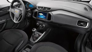 Versões do Chevrolet Onix - Onix 1.4 LTZ interior