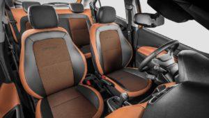 Versões do Chevrolet Onix - Onix Activ Interior