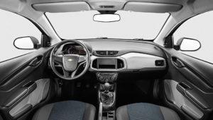 Versões do Chevrolet Onix - Onix Joy Interior