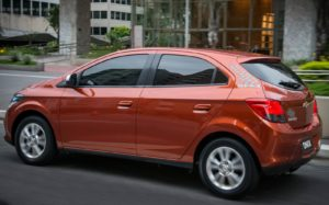 Versões do Chevrolet Onix - Onix Lollapalooza exterior