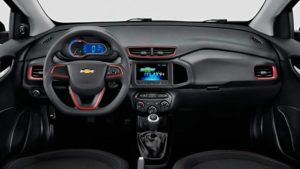 Versões do Chevrolet Onix - Onix effect interior