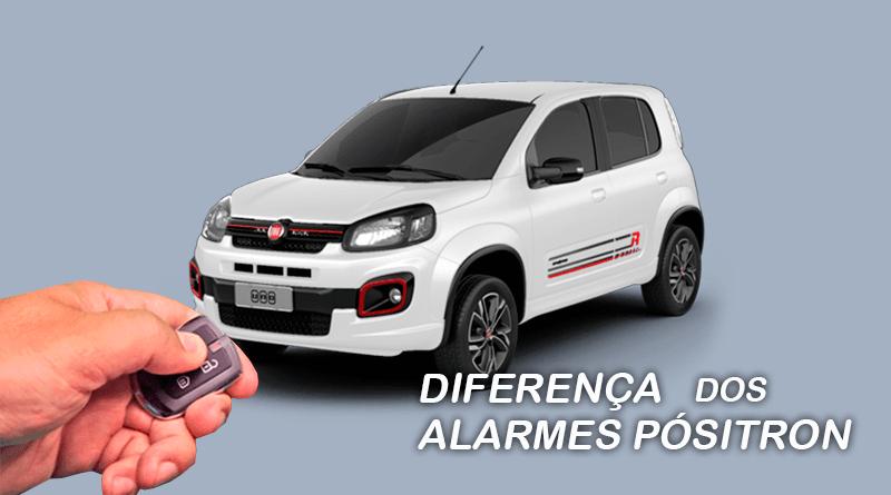 Você sabe quais são as diferenças dos alarmes EX, FX, PX e Keyless da Pósitron? Confira aqui!