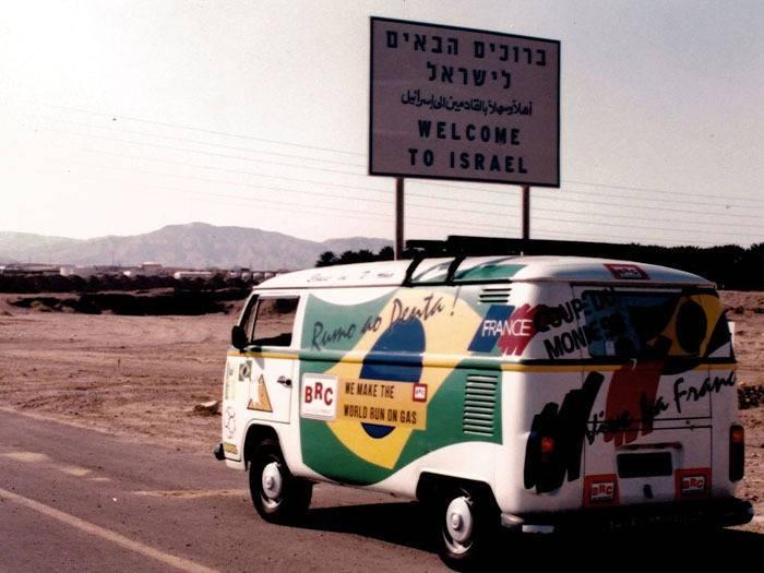 Conheça Seu Nenê da Kombi, um aventureiro que já foi para quatro continentes dirigindo
