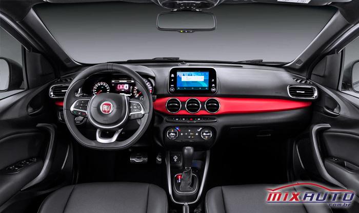 Fiat Argo já sai de fábrica com o botão start stop