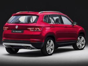 VW T-Cross vermelho