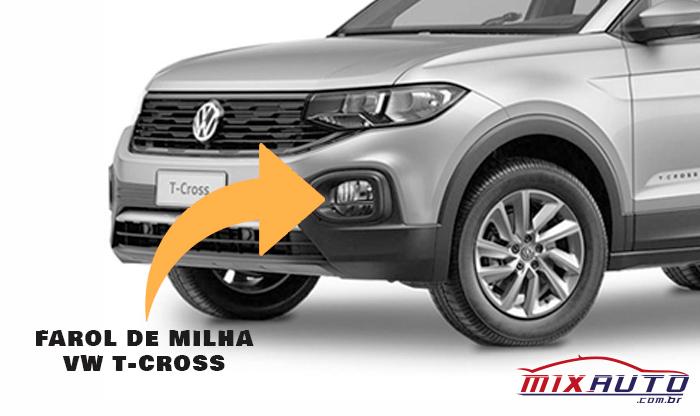 Farol de Milha Volkswagen T-Cross