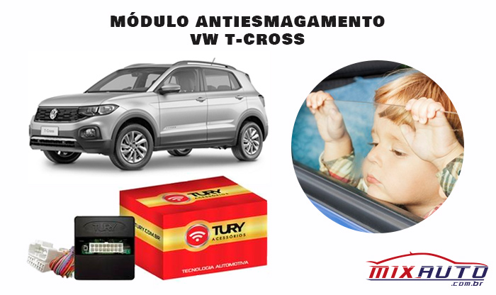 Módulo Antiesmagamento VW T-Cross