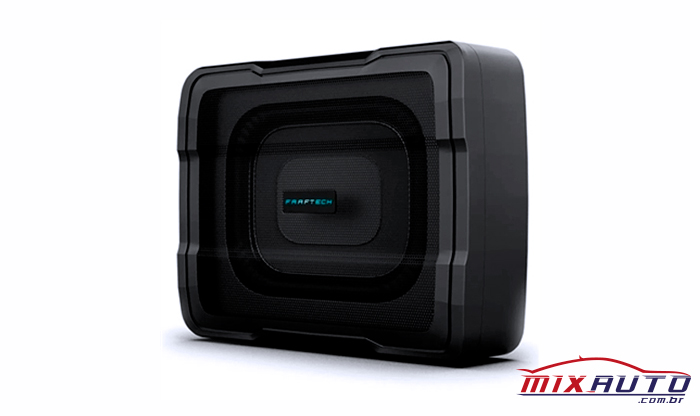 Subwoofer T-Cross Slim Ativo Plug And Play