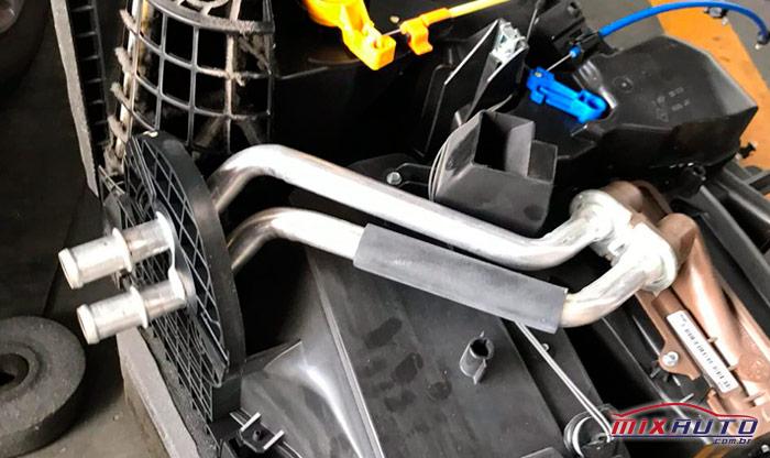 Desmontagem da caixa para troca do evaporador do Ar Condicionado Automotivo MixAuto