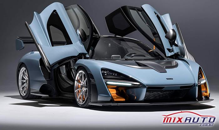 McLaren Senna Coupé tem o IPVA mais caro de SP em 2020