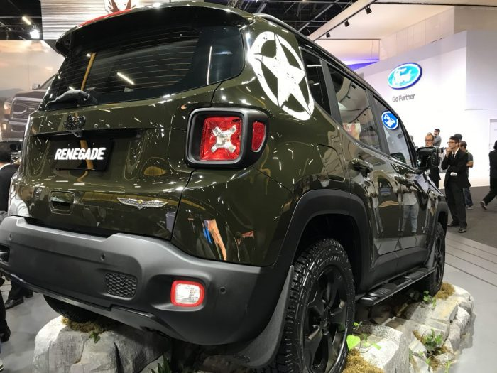 Jeep Renegade Willys traseira