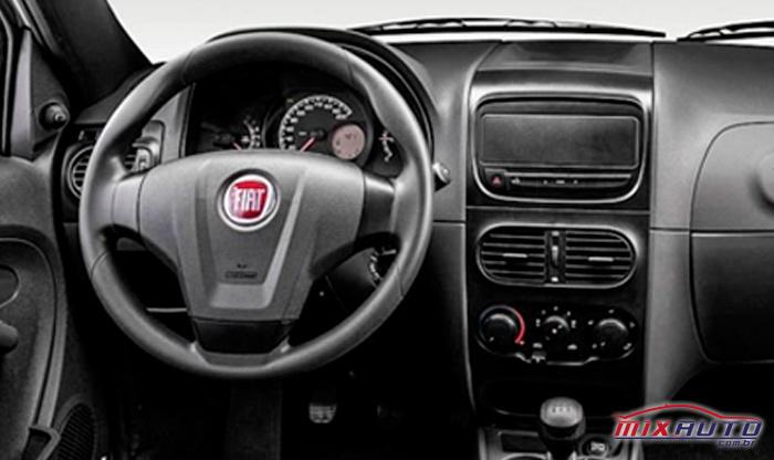 Painel do Fiat Strada 2020