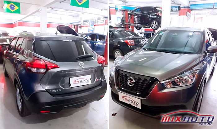 Nissan Kicks na Mix Auto Center Ipiranga