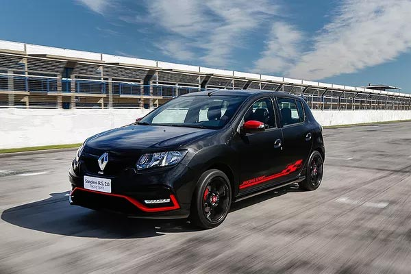 Renault Sandero RS track day