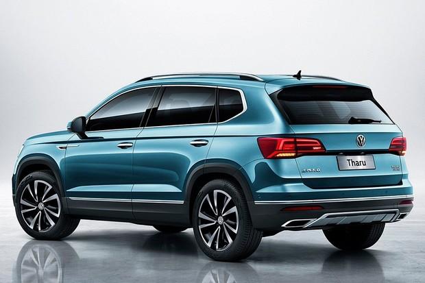 Volkswagen acessórios tarek tharu lateral 2018