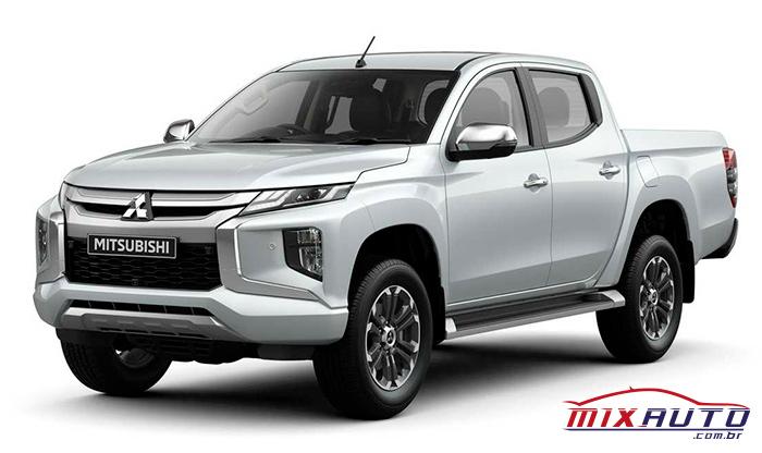 Mitsubishi L200 2021 branco