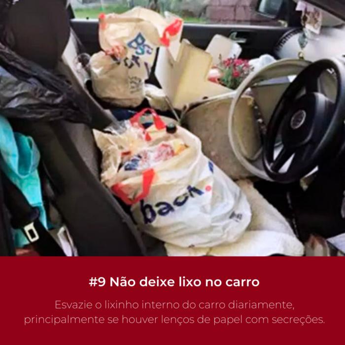 O lixinho interno do carro ajuda no cotidiano, mas, esse pequeno acessório pode prejudicar sua saúde.