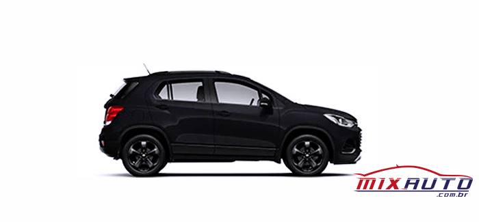Chevrolet Tracker preto 2020