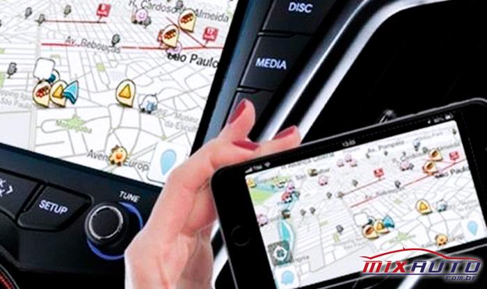 Espelhamento de tela para o Toyota Raize