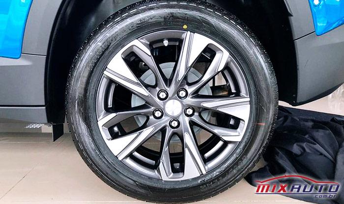 Rodas de liga-leve para o Toyota Raize