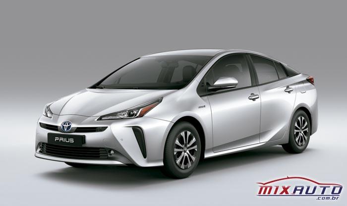O Toyota Prius é um dos carros híbridos mais vendidos no Brasil