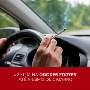Oxi-sanitização vs. mau cheiro do cigarro