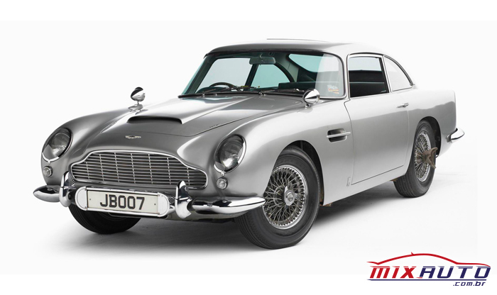 Aston Martin DB5 é utilizado por James Bond desde 1964