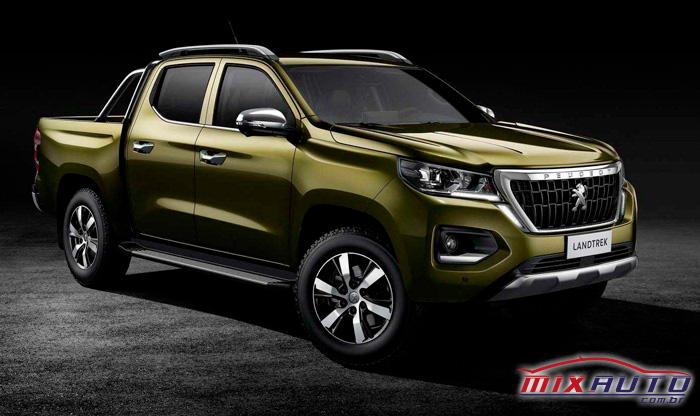 A nova Peugeot Landtrekjá foi registrada junto ao INPI