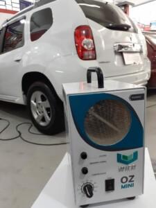 Renault Duster preparado para a Limpeza com Ozônio na Mix Auto Center